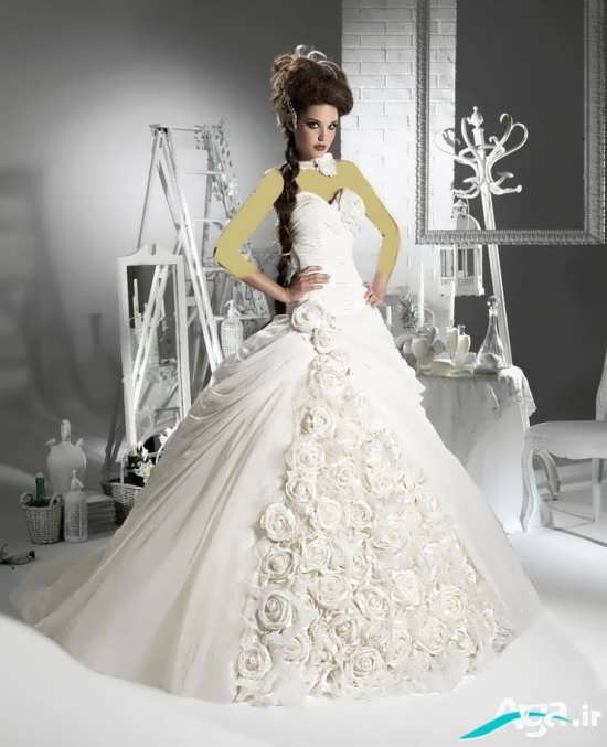 model of european bride dress (8)