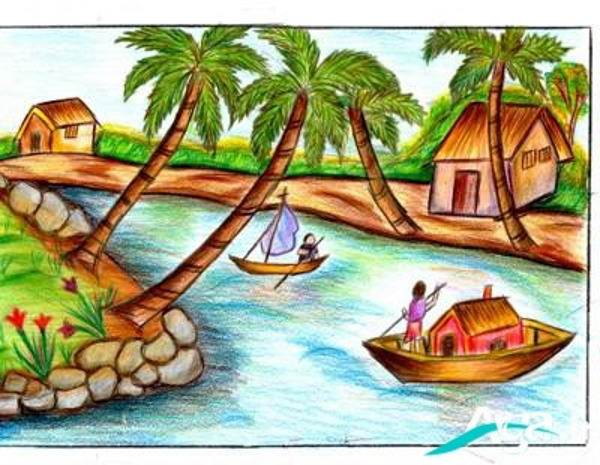 نقاشی های خلاقانه کودکان