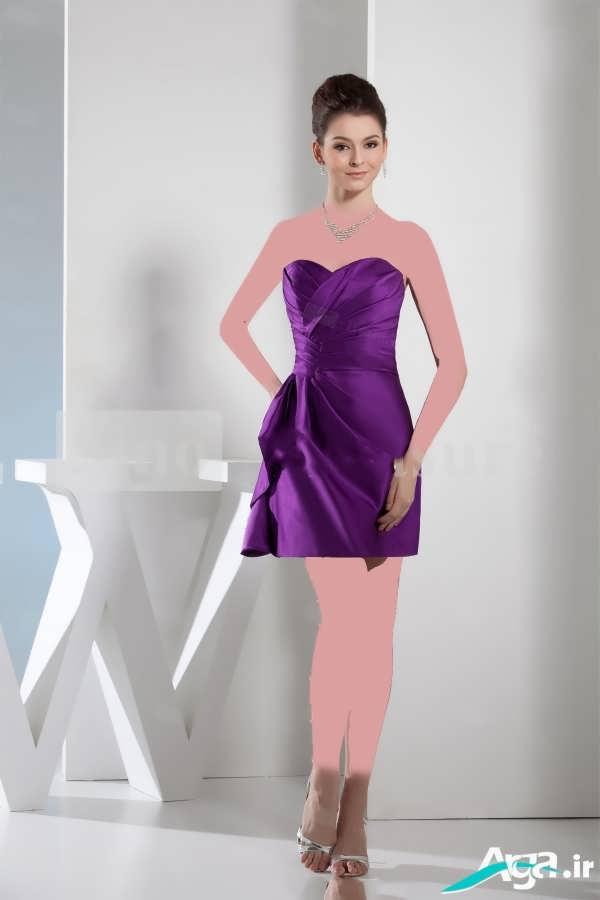 لباس شب جذاب بنفش