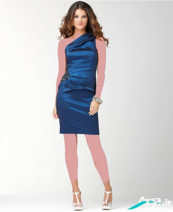 لباس شب دخترانه آبی