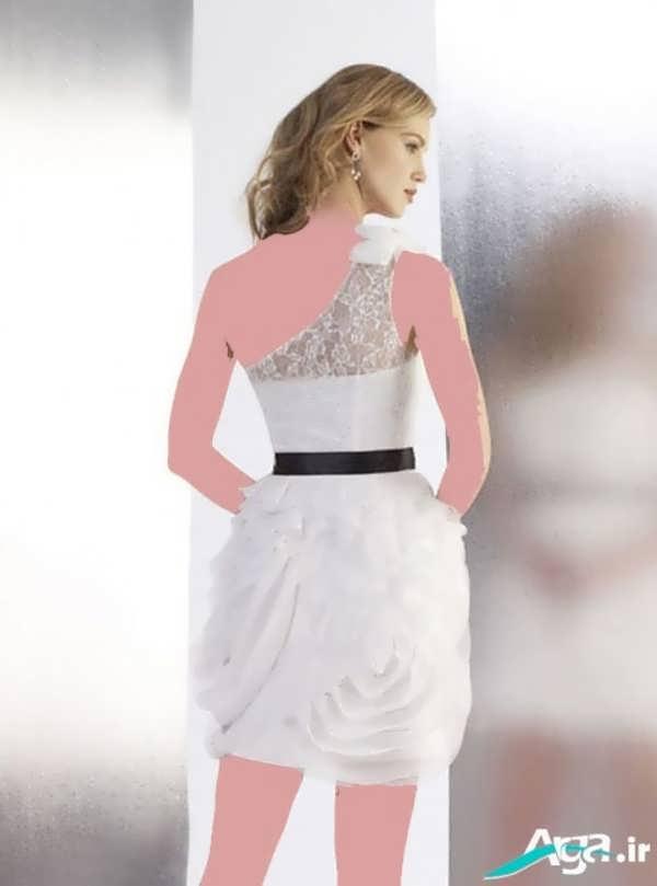 لباس شب سفید دخترانه