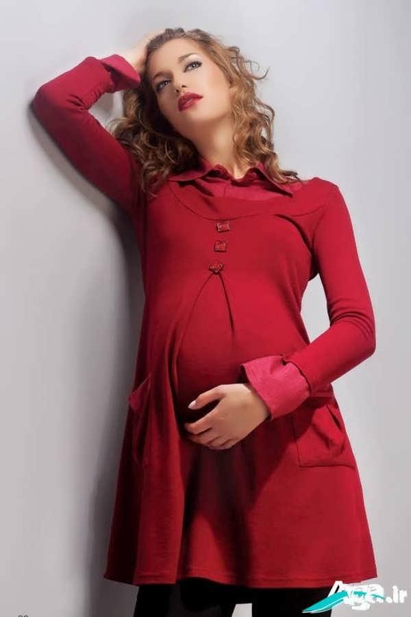 مدل سارافون بارداری قرمز