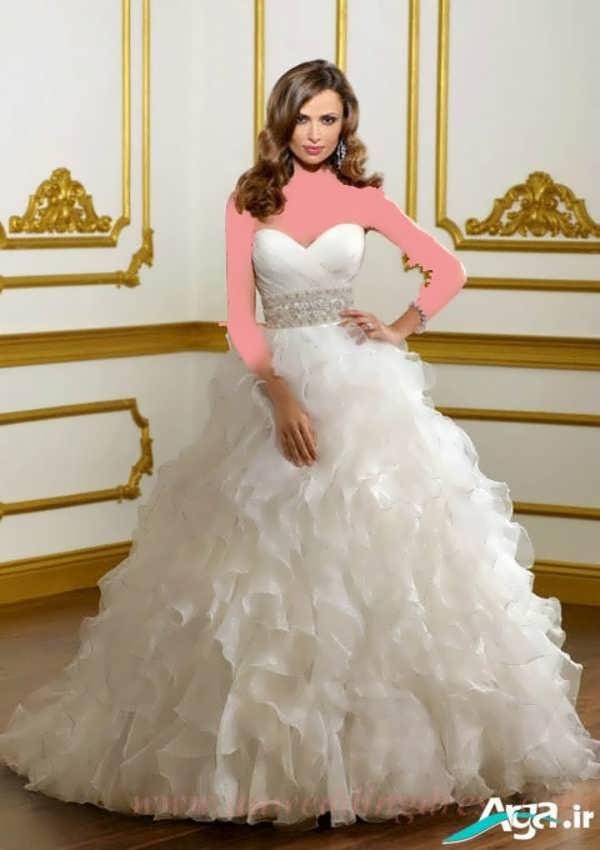 زیباترین لباس عروس پفی