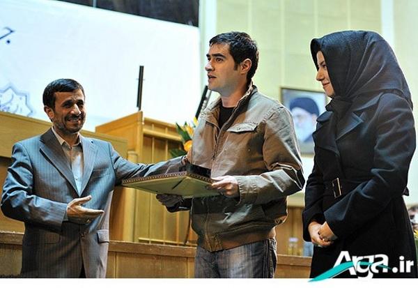 احمدی نژاد وشهاب حسینی