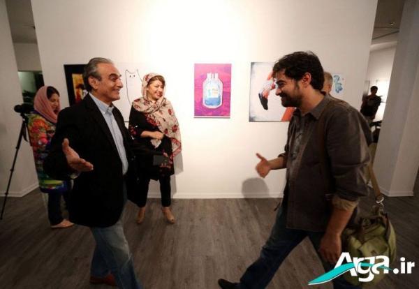 تصاویر همسر شهاب حسینی