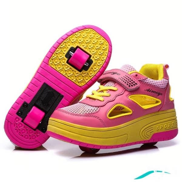 تنوع رنگ کفش کتانی دخترانه