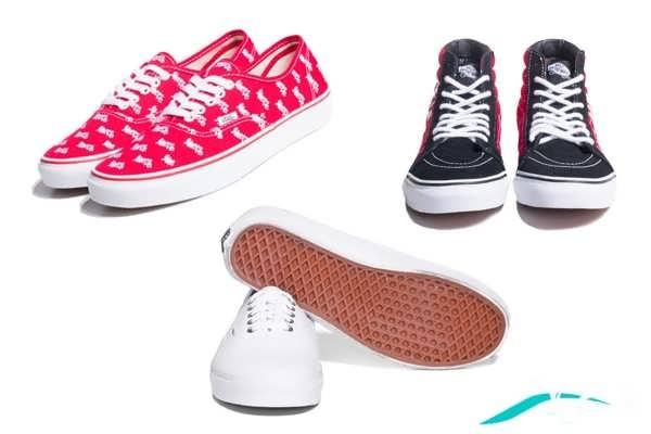 انواع کفش کتانی دخترانه