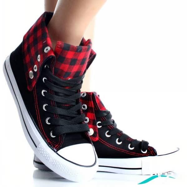 کفش دخترانه کتانی