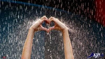 اس ام اس باران عاشقانه