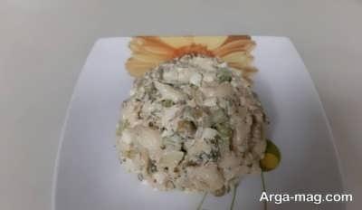 سالادی خوشمزه از تن ماهی