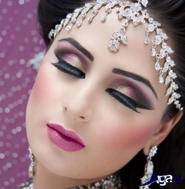 آرایش عربی عروس