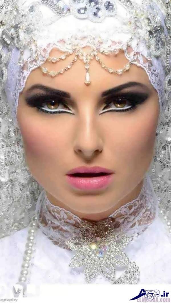 میکاپ عروس به سبک عربی