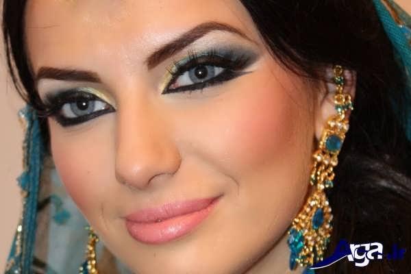 مدل های متنوع میکاپ عربی