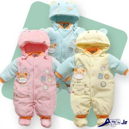 لباس گرم نوزادی