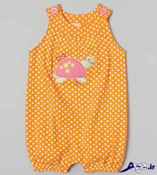 لباس نوزاد با طرح لاک پشت