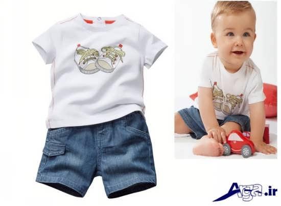 مدل لباس نوزاد پسرانه