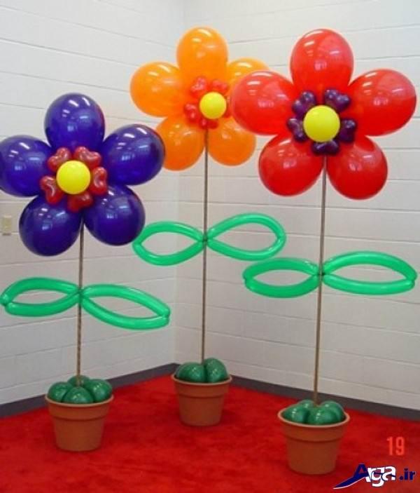 تزیین بادکنک جشن تولد