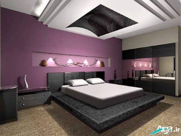 دیزاین داخلی اتاق خواب جدید