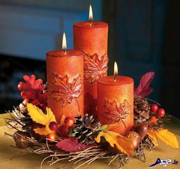 تزیین و دیزاین شمع