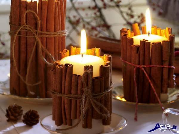 شمع آرایی ساده