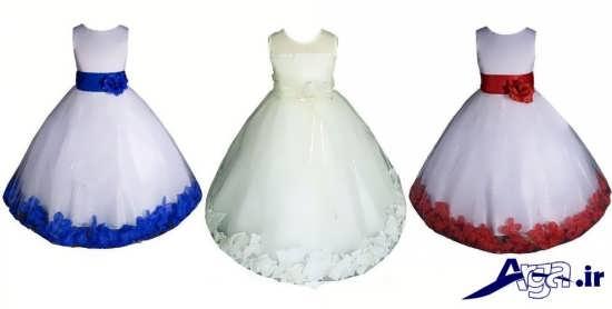 لباس عروس بچه گانه با طرح های مدرن و زیبا