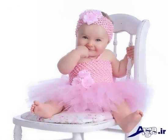 لباس مجلسی با طراحی شیک و مدرن برای نوزادان