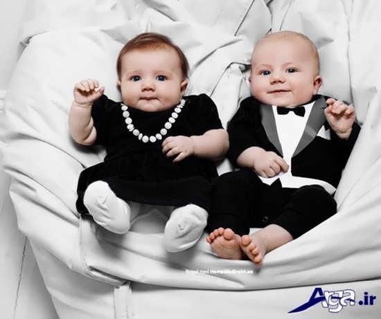 لباس مجلسی بچه گانه برای نوزادان پسر و دختر