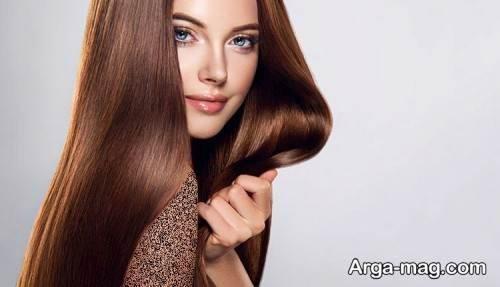 رنگ مو شکلاتی کاراملی
