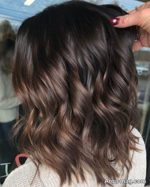 رنگ مو خاص شکلاتی
