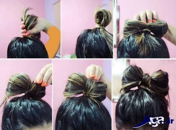 مدل های متنوع و زیبا بستن مو