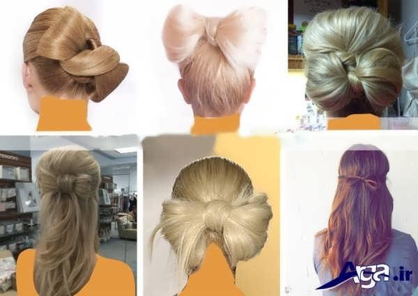 انواع مدل های زیبا و شیک بستن مو های سر