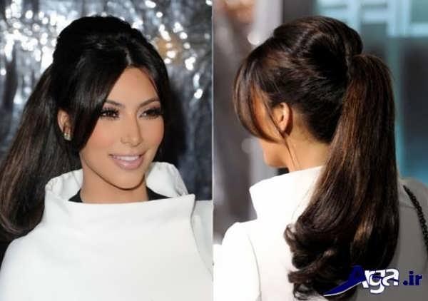 مدل موی جلوی سر زنانه به همراه مدل بستن مو ها
