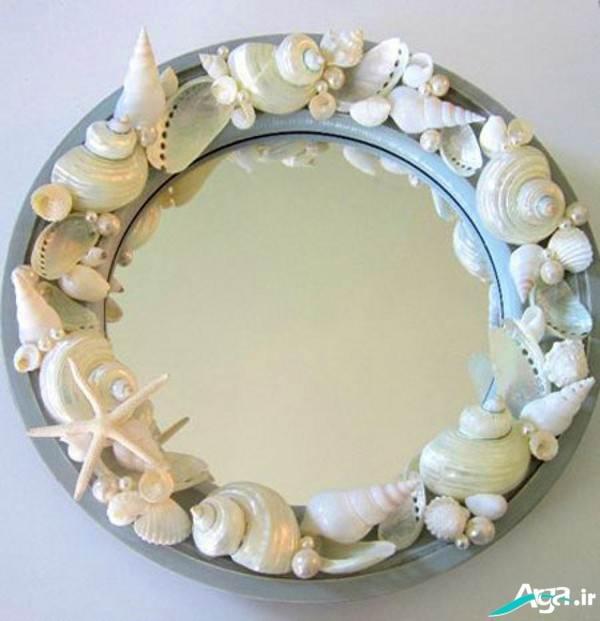 ساخت قاب آبنه با صدف