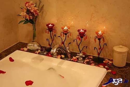 تزیین وسایل سرویس بهداشتی عروس