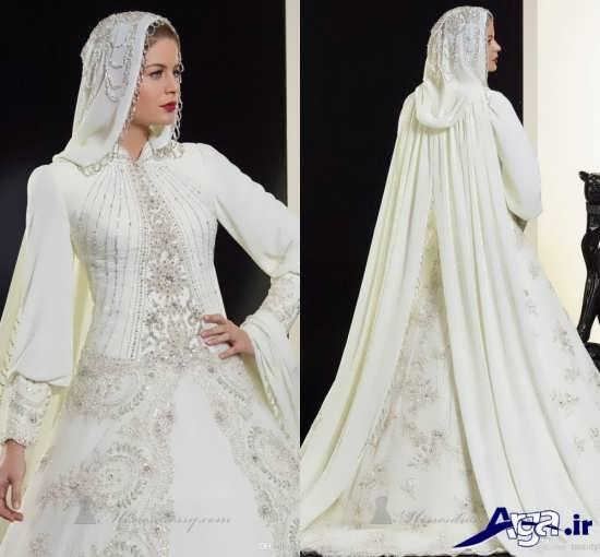 مدل لباس عروس پوشیده
