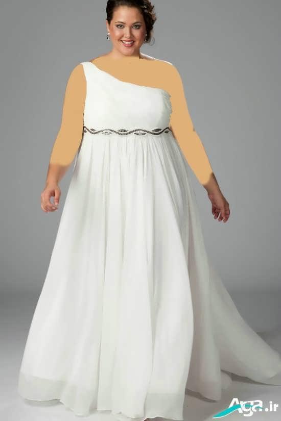 لباس مجلسی سایز بزرگ برای خانم های چاق