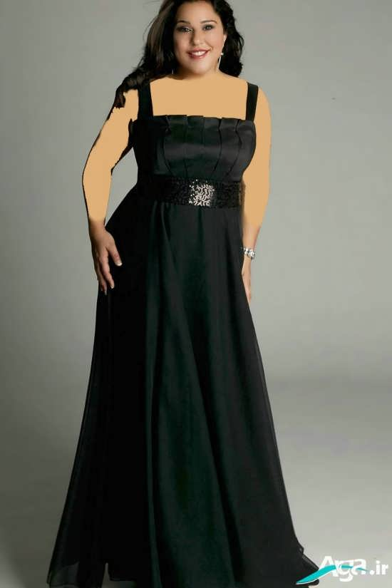لباس مجلسی بسیار بلند زنانه