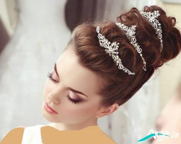 آرایش عروس به سبک اروپایی 2016