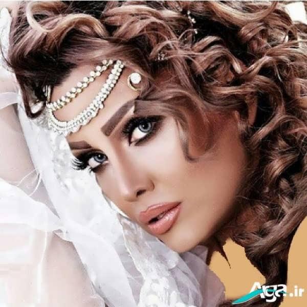 آرایش عروس اروپایی با متدهای روز