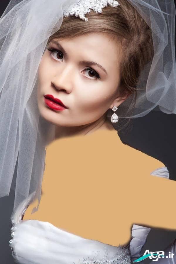 انواع مدل های میکاپ عروس اروپایی