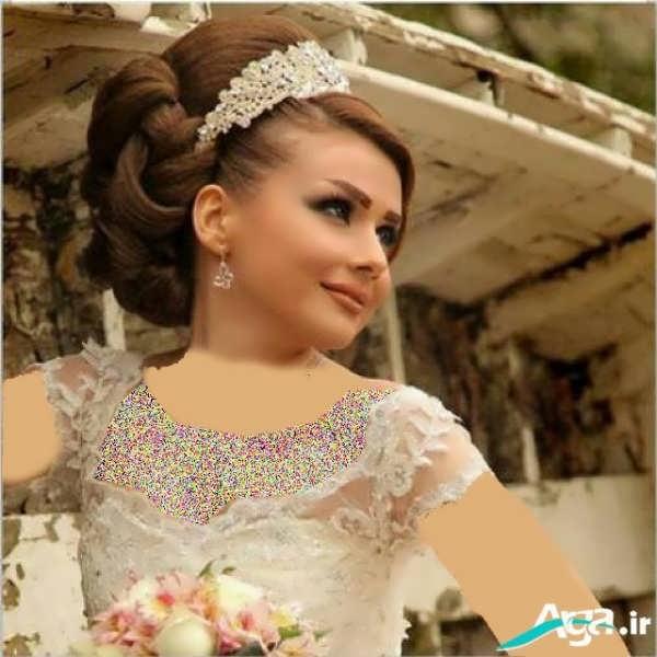 آرایش عروس به سبک جدید اروپایی
