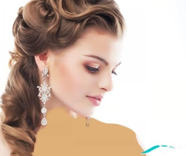 انواع مدل های متنوع آرایش عروس