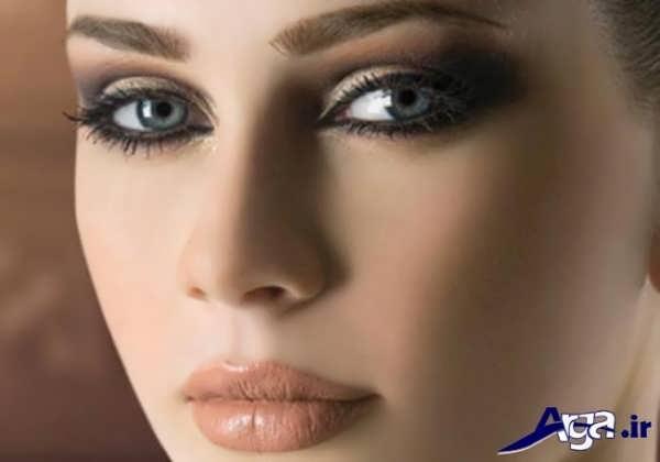 ابرو اسپرت زنانه به همراه آرایش