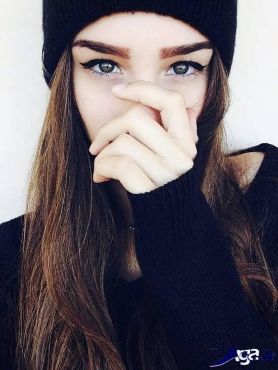 مدل ابرو دخترانه پهن 2016