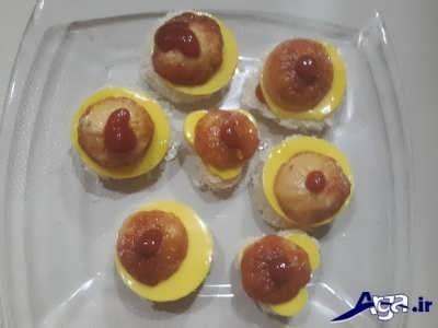 کاناپه سوسیس و پنیر