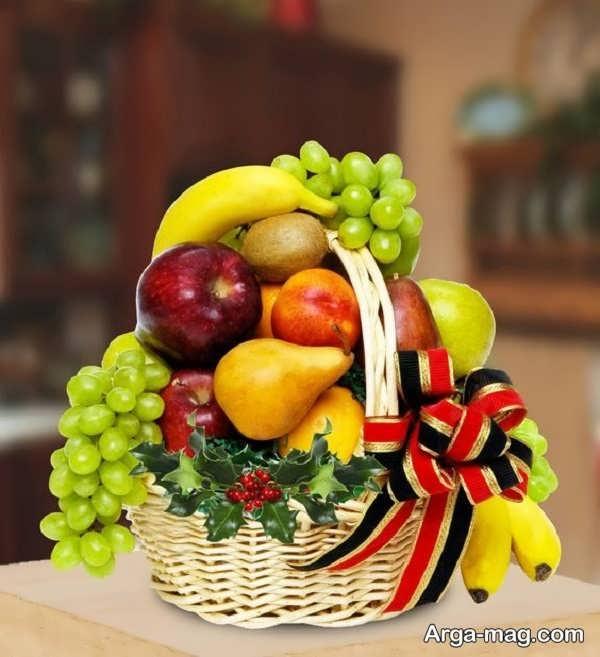 تزیینات هنرمندانه میوه سفره عقد