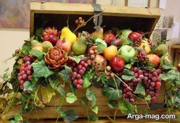 خاص ترین میوه آرایی سفره عقد