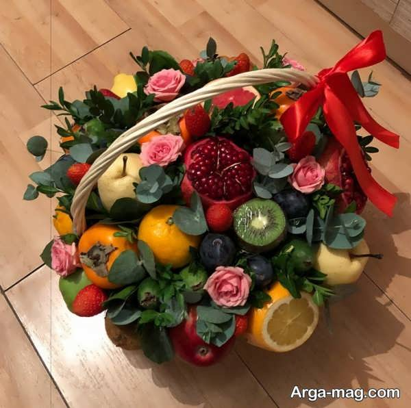 تزیینات متنوع میوه سفره عقد