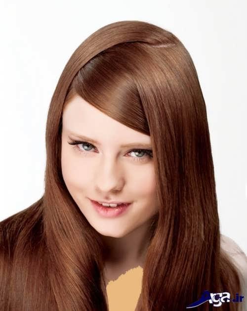 مدل های رنگ موی شکلاتی