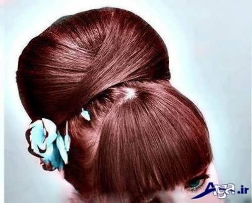 ترکیب رنگ موی شکلاتی شاه بلوطی